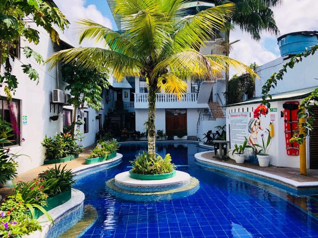 The swimming pool at or near Hotel Yurupary