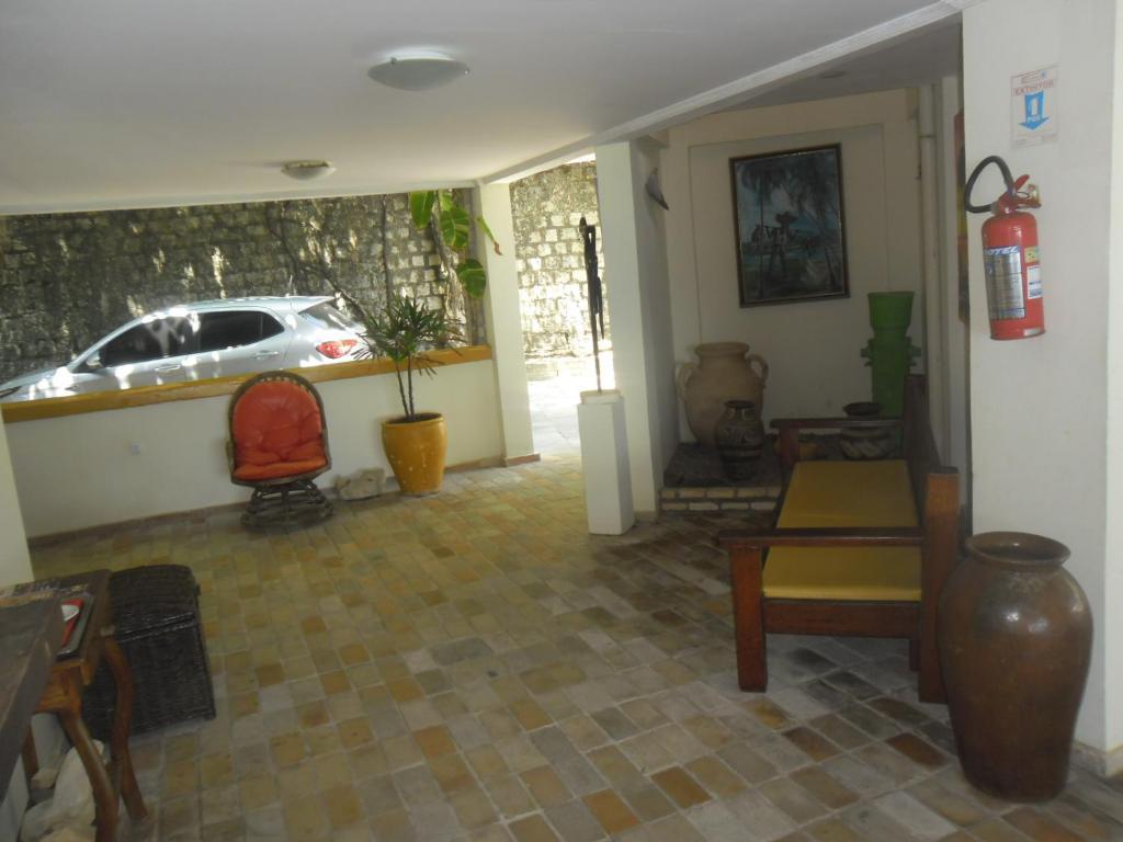 The lobby or reception area at Hotel Morro do Careca