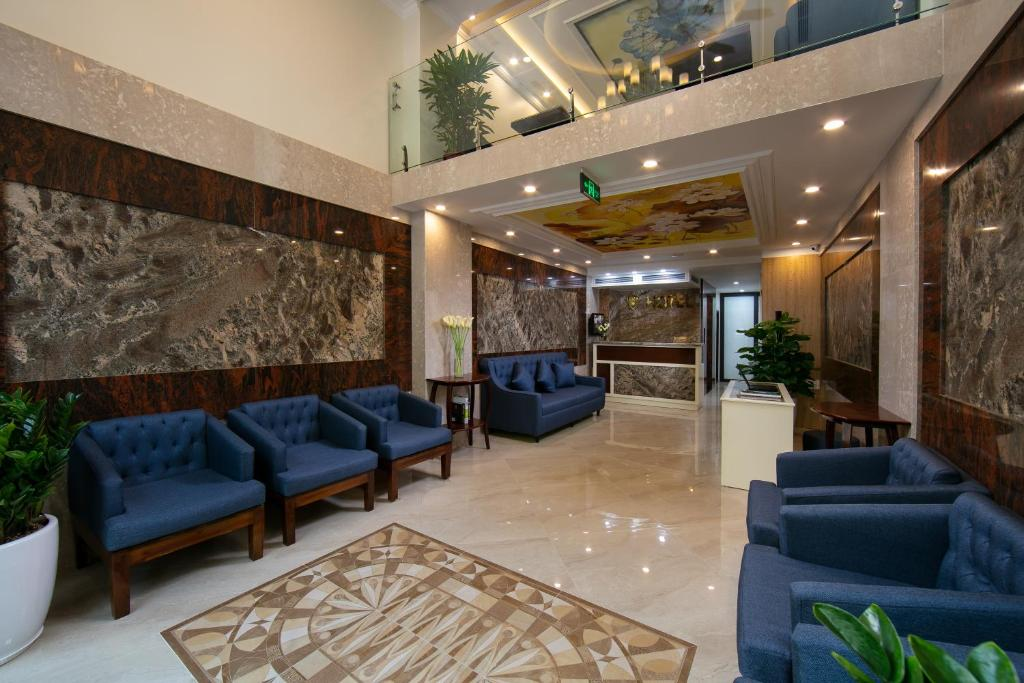 The lobby or reception area at mTerre Boutique Hotel