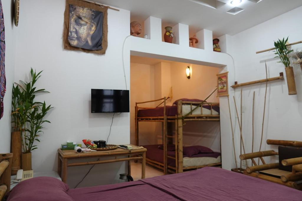 Phòng cho 4 Người có Cửa sổ