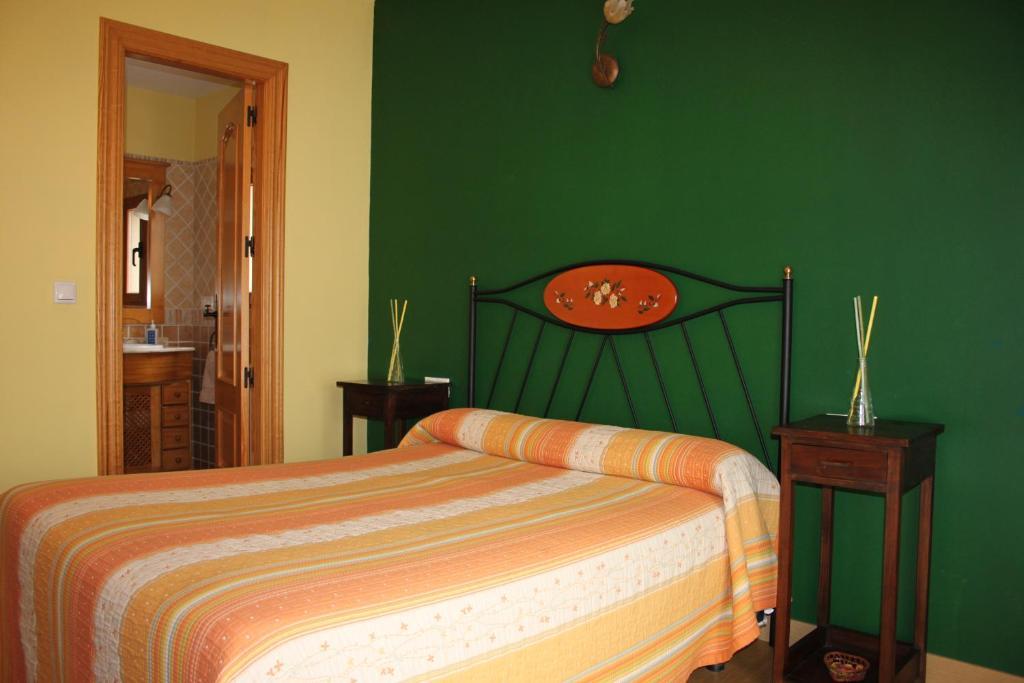 Cama o camas de una habitación en El Rincon del Labrador