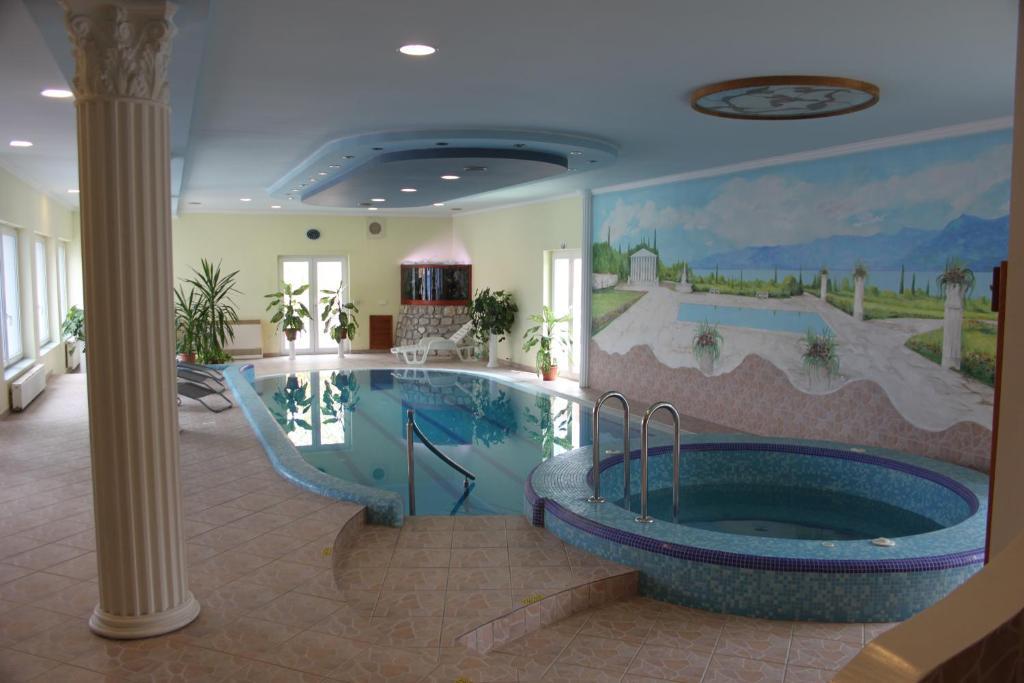 Bazén v ubytování Blue Villa Appartement House nebo v jeho okolí