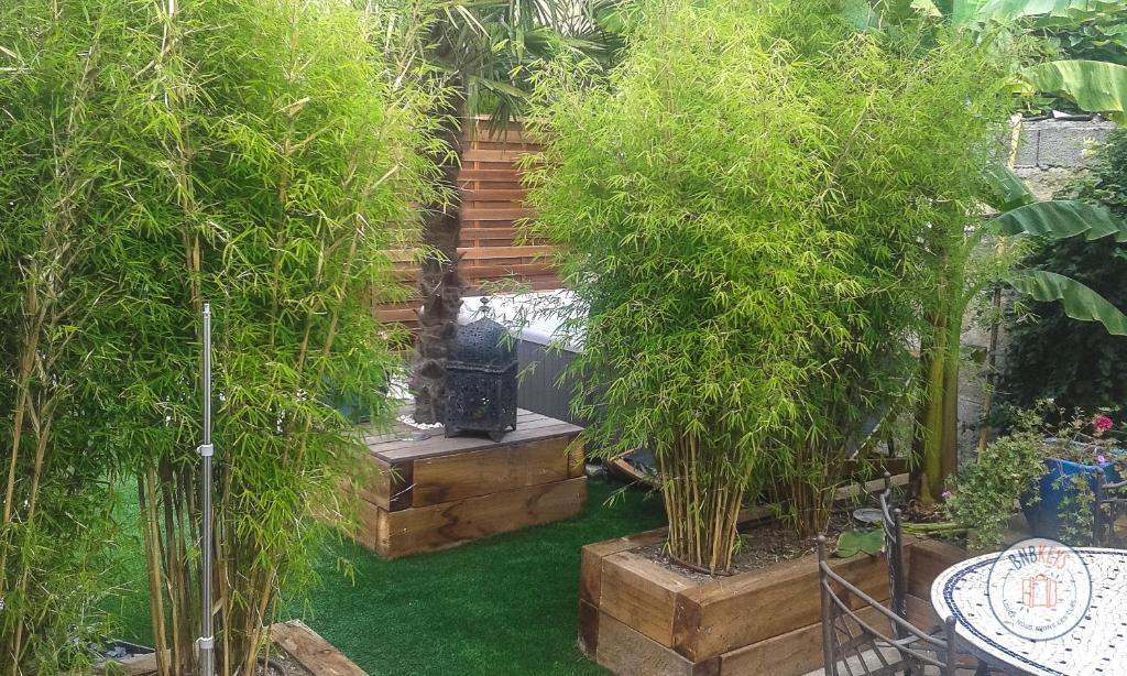Maison de ville à Bordeaux avec jardin et jacuzzi, France ...