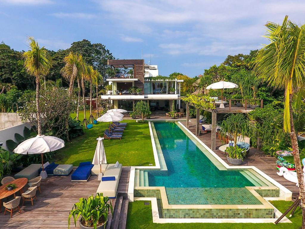 A view of the pool at Noku Beach House - an elite haven or nearby
