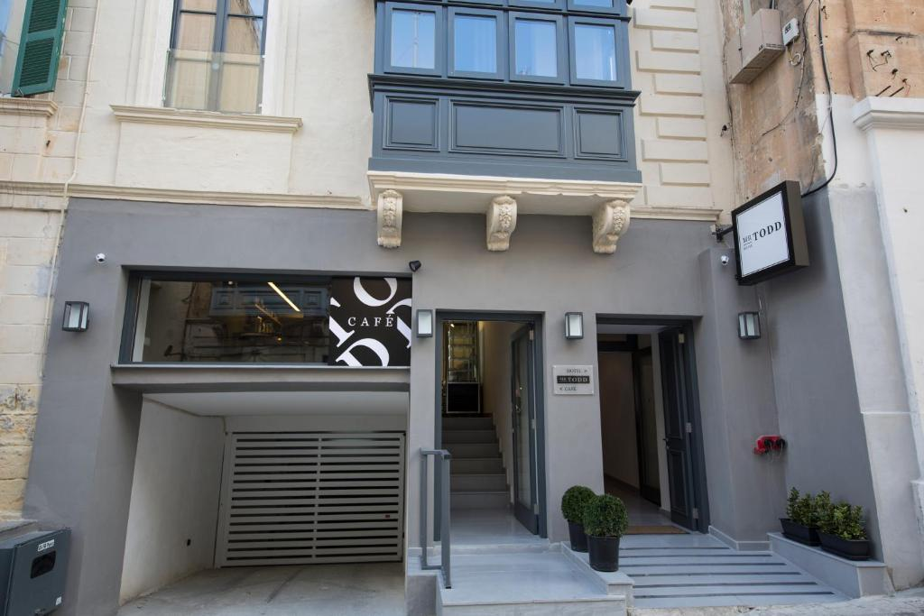 A fachada ou entrada em Mr. Todd Hotel
