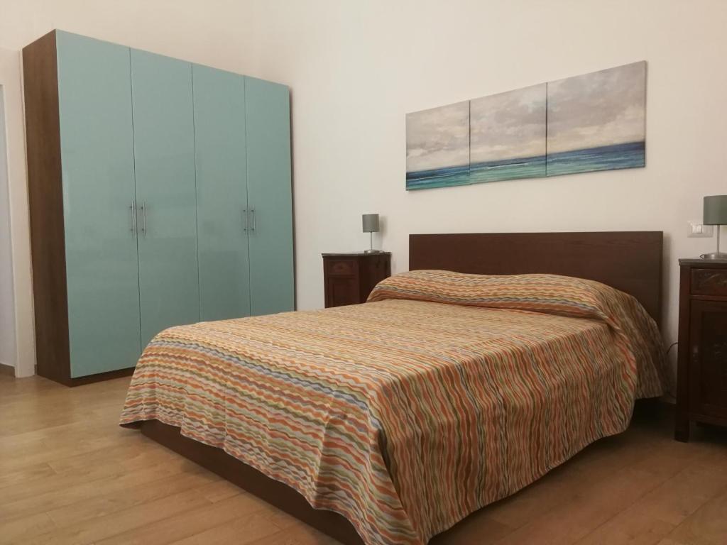 Łóżko lub łóżka w pokoju w obiekcie B&b Sebastian