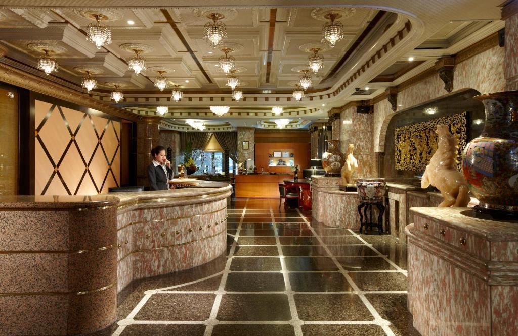 Preddverje oz. recepcija v nastanitvi Taipei Charming City Hotel