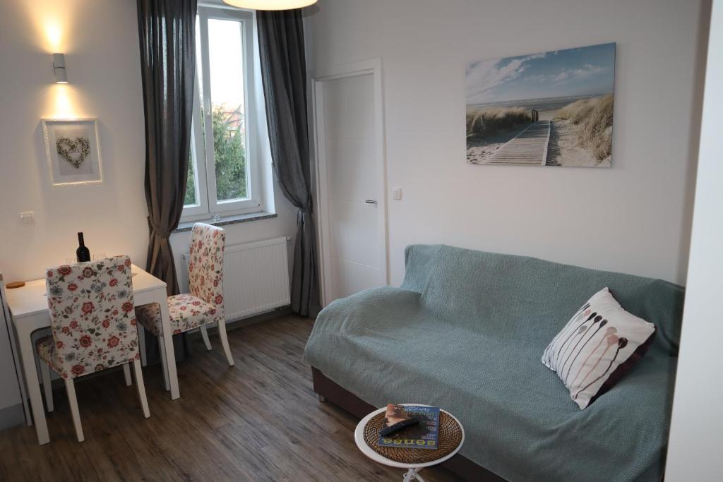 Posedenie v ubytovaní The Luxury Marija Apartment