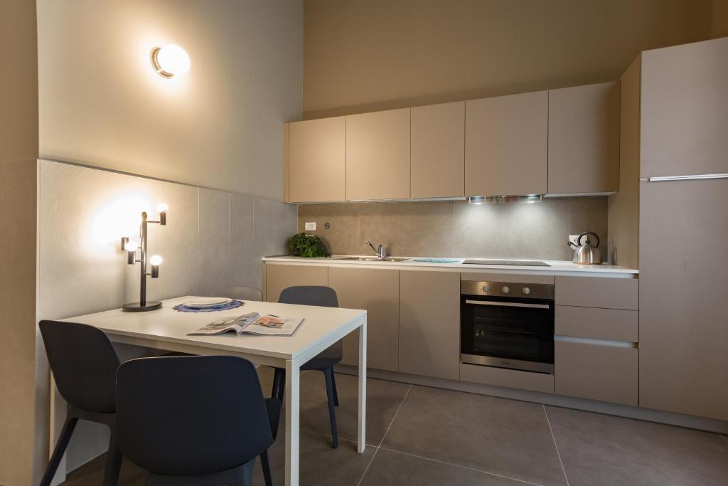 מטבח או מטבחון ב-Dreams Hotel Residenza Corso Magenta