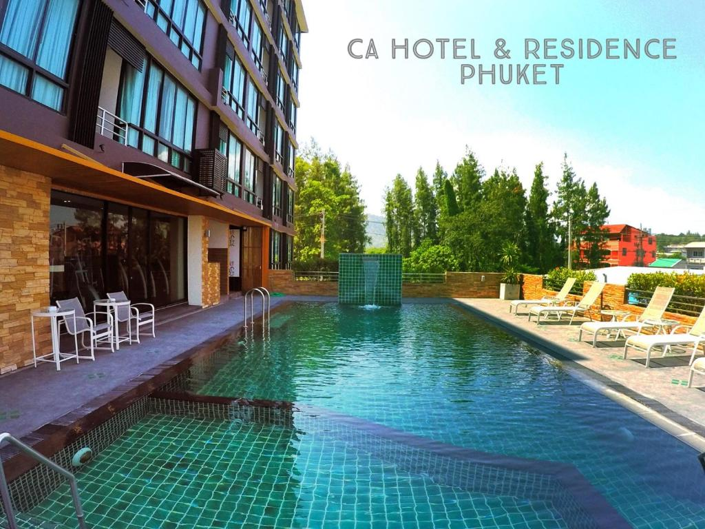 The swimming pool at or near CA Hotel and Residence Phuket