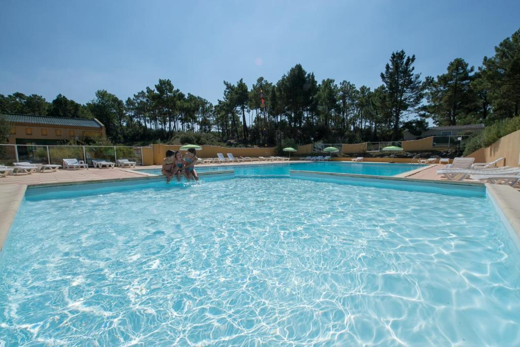 The swimming pool at or close to Camping Domaine des Pins