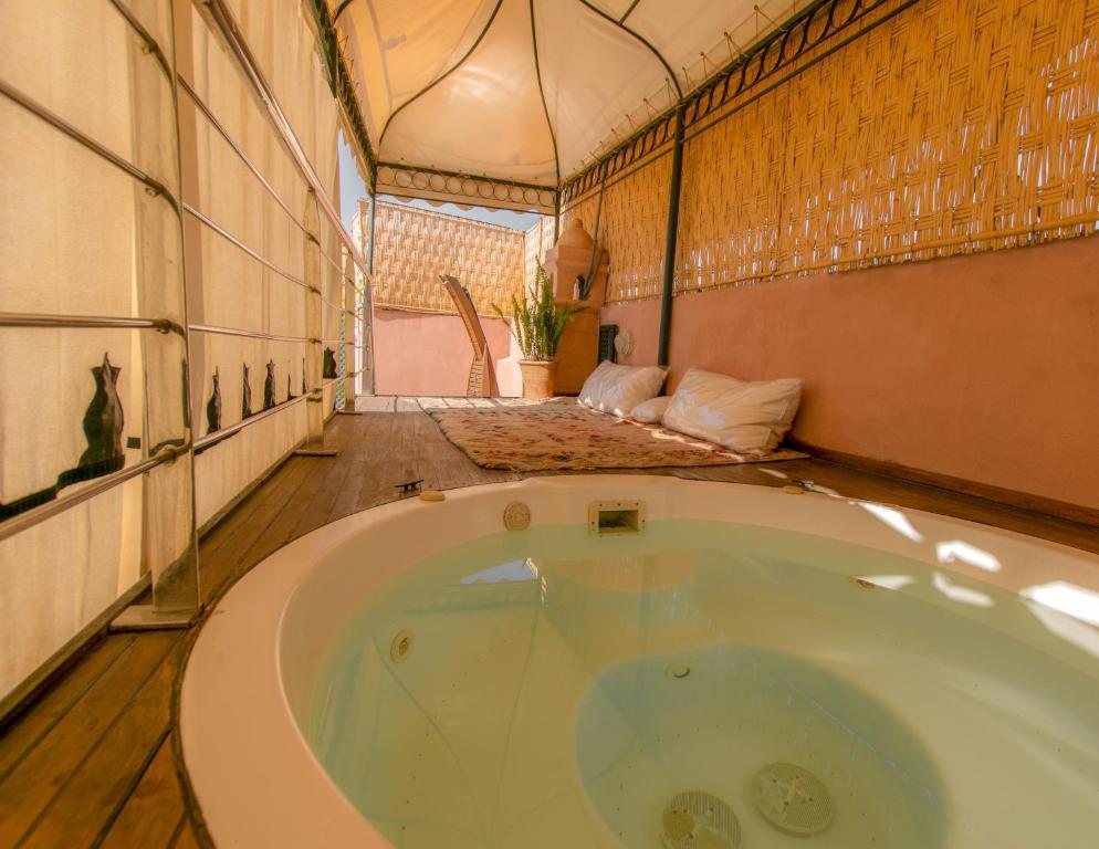 Een badkamer bij Dar Sohane