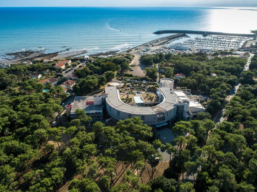 Blick auf Club Vacances Bleues Les Jardins De l'Atlantique aus der Vogelperspektive