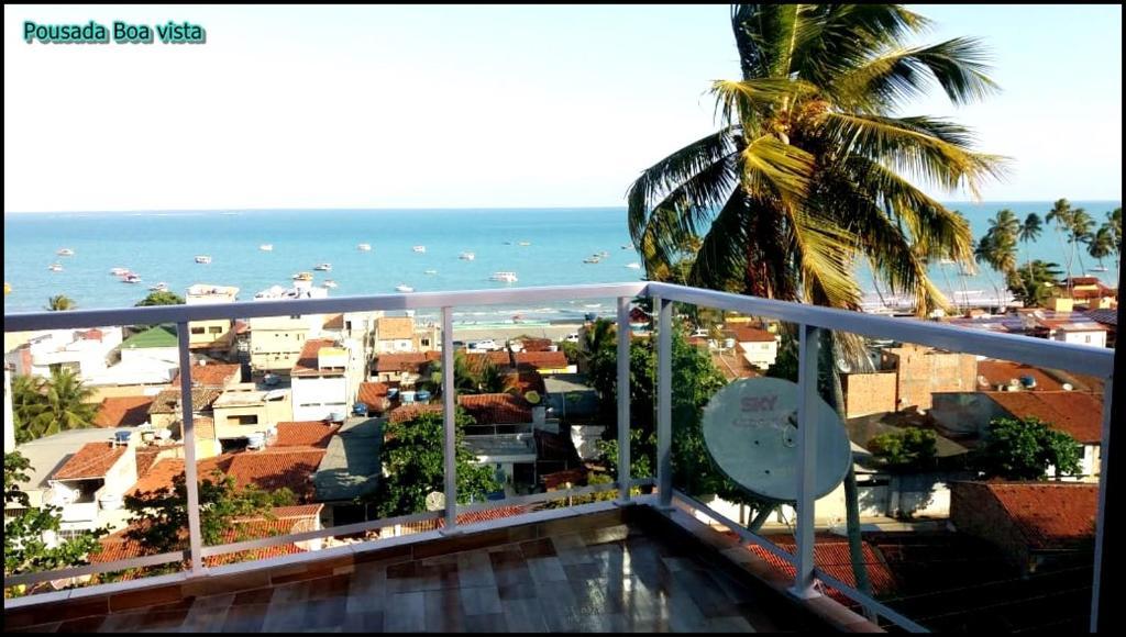 A balcony or terrace at Pousada Boa Vista