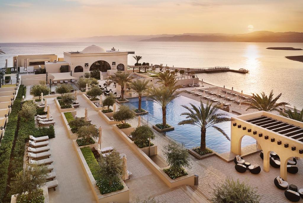 A view of the pool at Al Manara, a Luxury Collection Hotel, Saraya Aqaba or nearby