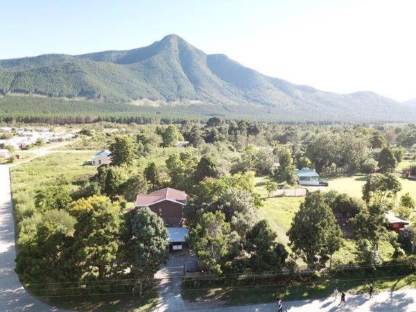 A bird's-eye view of LaLuna Lodge