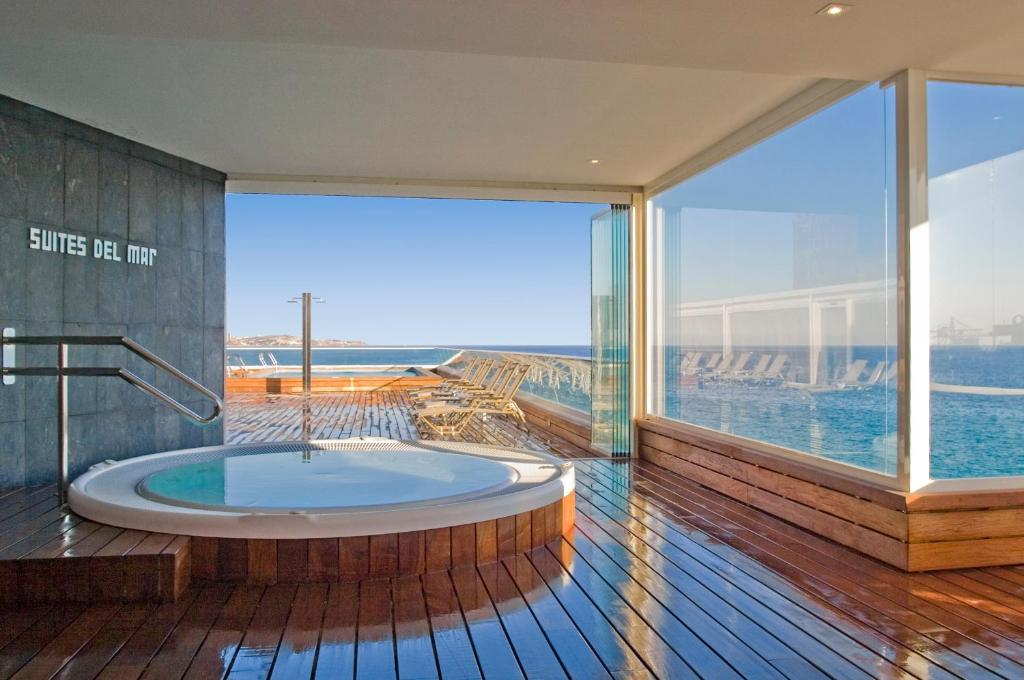 The swimming pool at or near Suites del Mar by Melia
