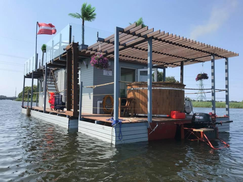 Boat Houseboat On The Water Liepāja Latvia Booking