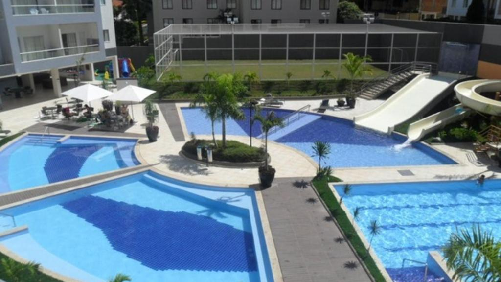 A view of the pool at Flat209 Veredas Rio Quente Particular or nearby