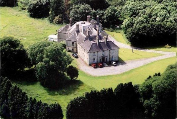 A bird's-eye view of Castlecor House - Historic Country House