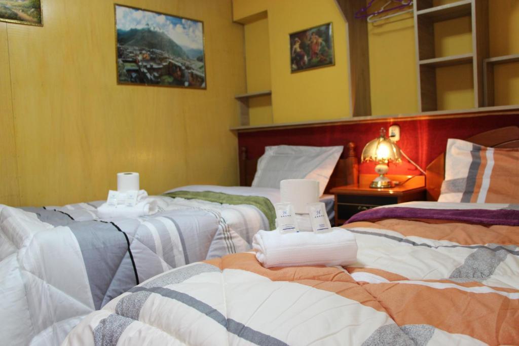 Cama o camas de una habitación en MILOR