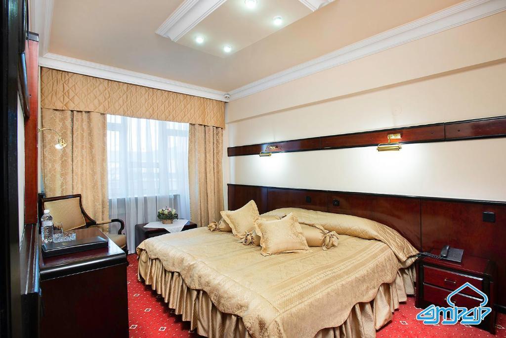 Een bed of bedden in een kamer bij Otrar