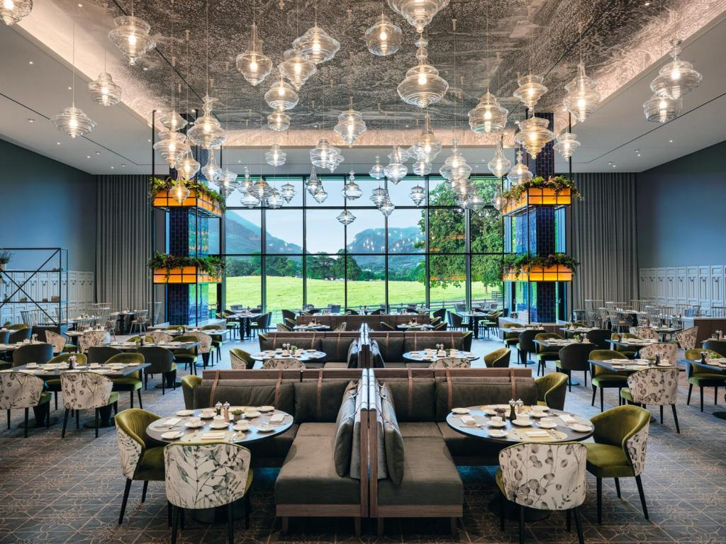 A restaurant or other place to eat at The Dunloe Hotel & Gardens