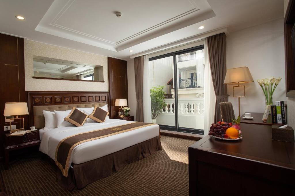 Phòng Luxury Giường Đôi Nhìn Ra Thành Phố