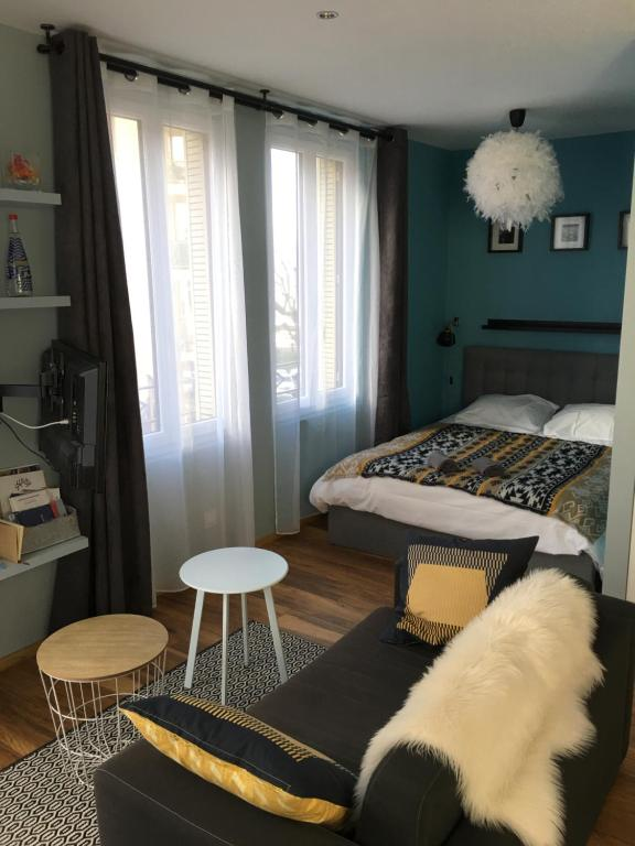 Apartment Studio Le Leman Evian Les Bains France Booking Com