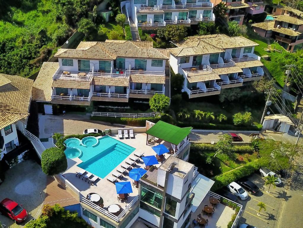Uma vista aérea de Hotel Pousada Experience João Fernandes