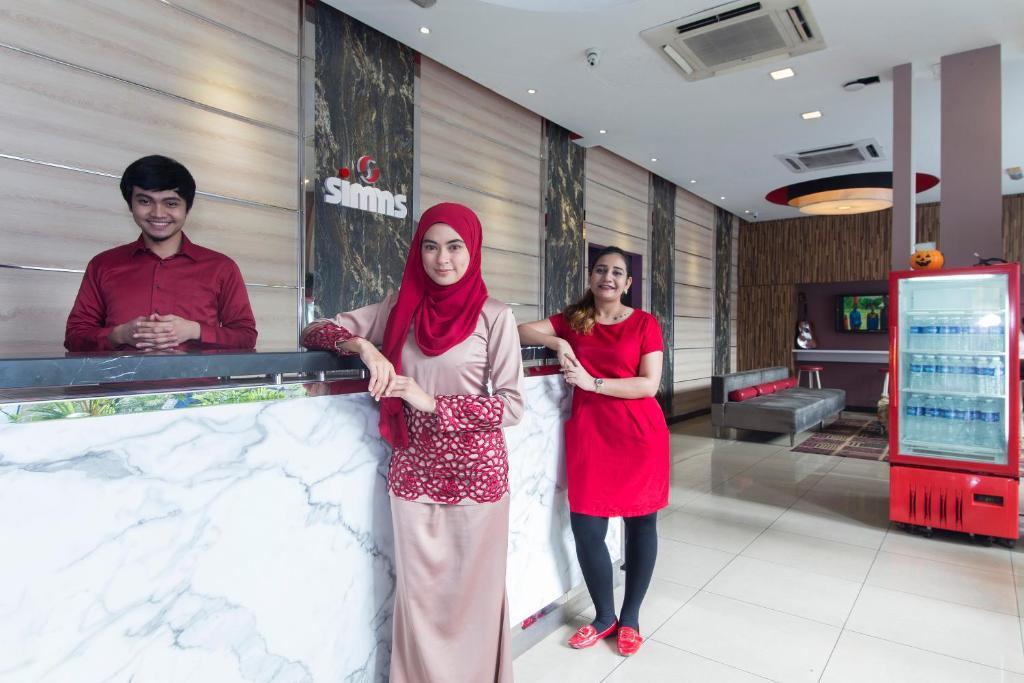 Gosti koji borave u objektu Smart Boutique Hotel (Bukit Bintang)