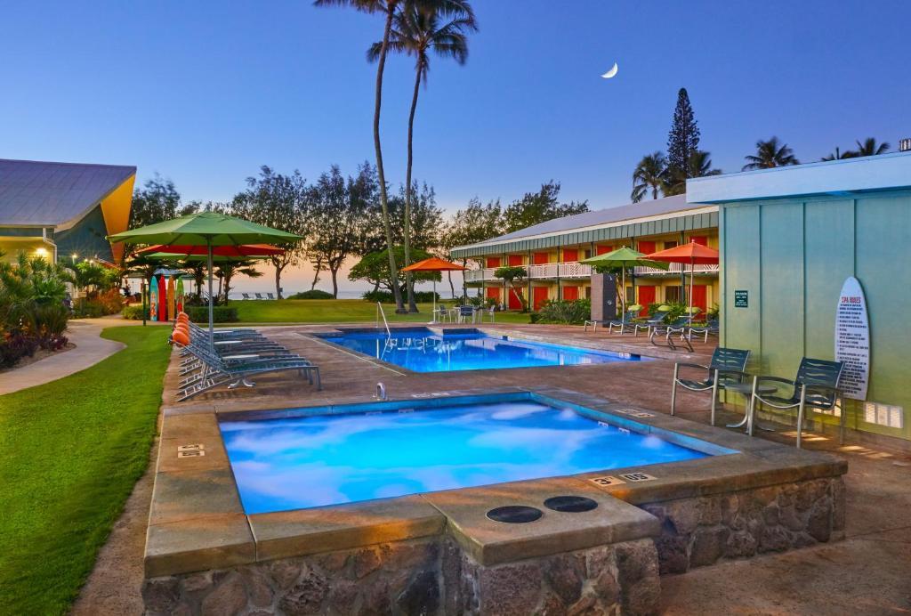 The swimming pool at or near Kauai Shores Hotel