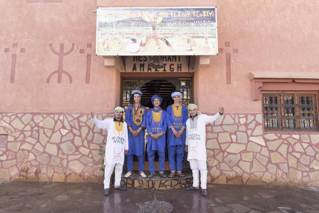 Staff members at Maison D'Hôtes Restaurant Chez L'Habitant Amazigh