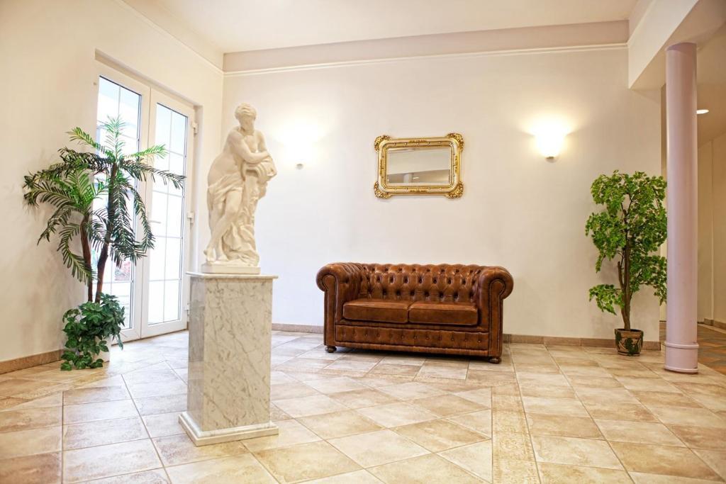 The lobby or reception area at Wellness Hotel Svoboda