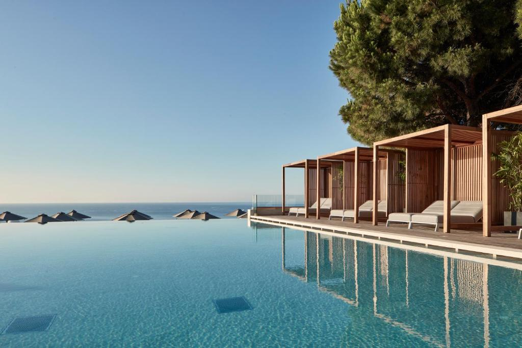 The swimming pool at or near Esperos Village Blue & Spa - Adults Only