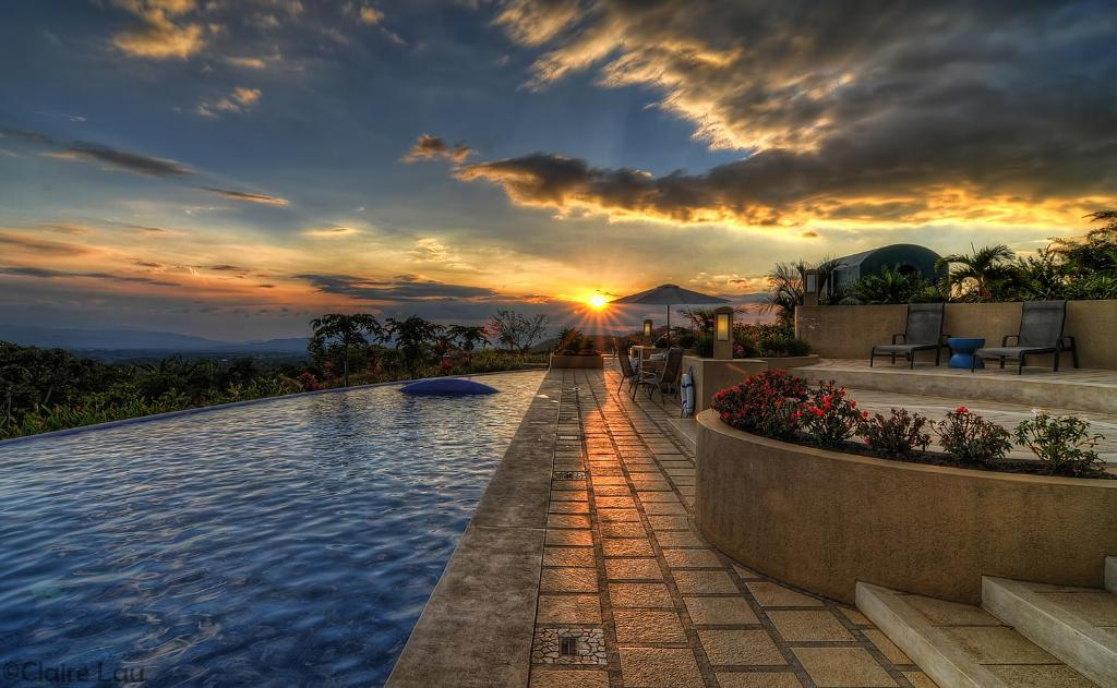 The swimming pool at or near Xandari Resort & Spa
