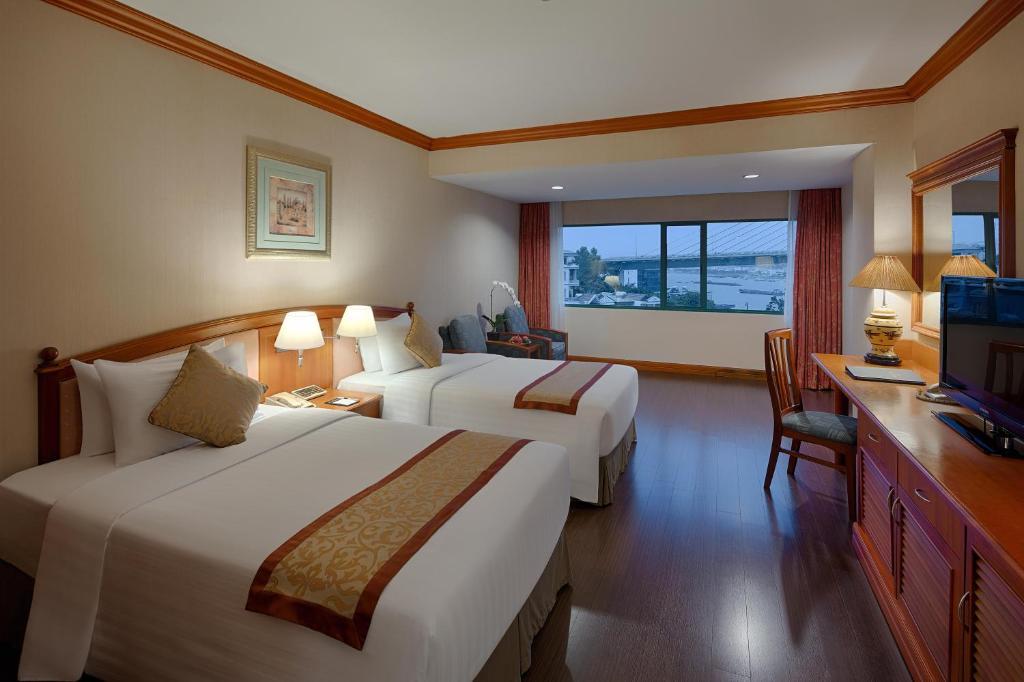 Phòng Deluxe 2 Giường Đơn Nhìn Ra Biển
