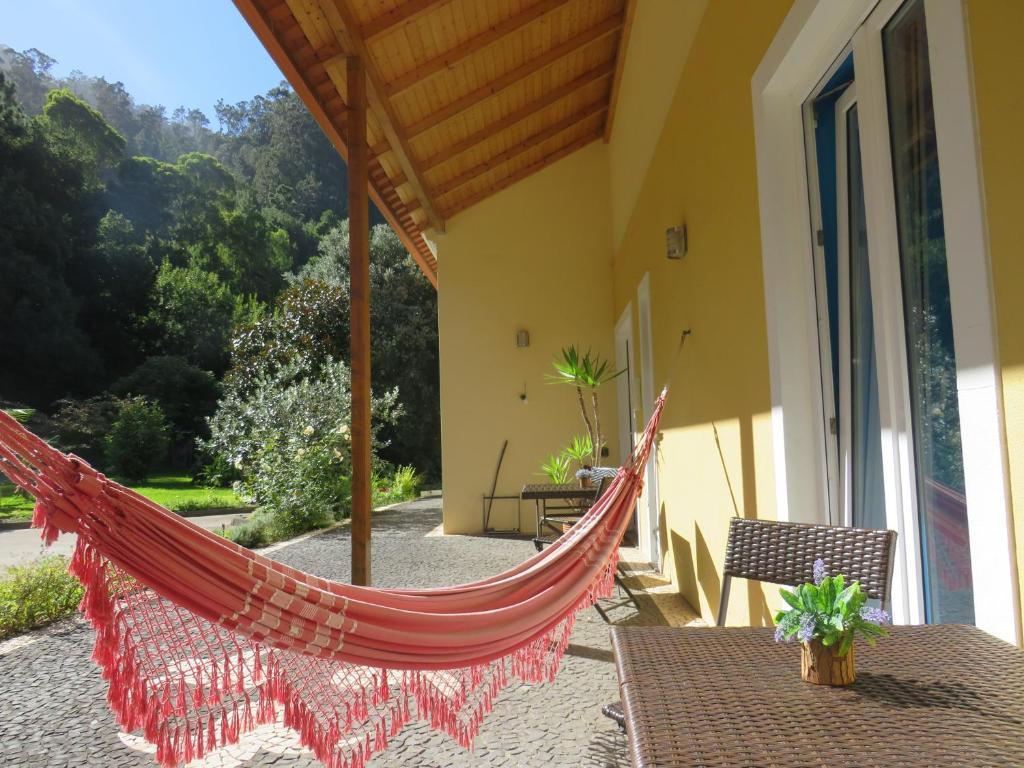 Un balcón o terraza de Solar do Carvalho