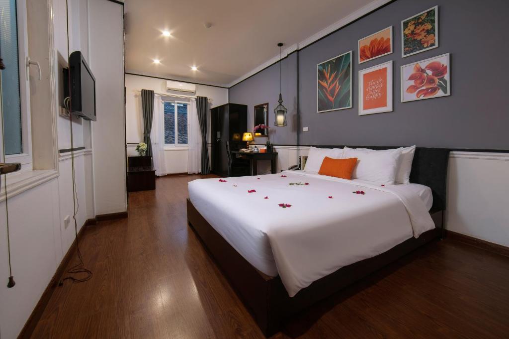 Phòng Premium Giường Đôi/2 Giường Đơn có Cửa sổ