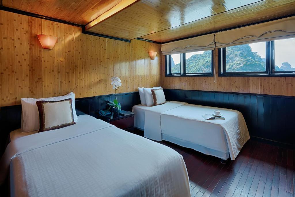 Phòng Deluxe Giường đôi hoặc 2 Giường đơn Nhìn ra Đại dương - 2 Ngày 1 Đêm