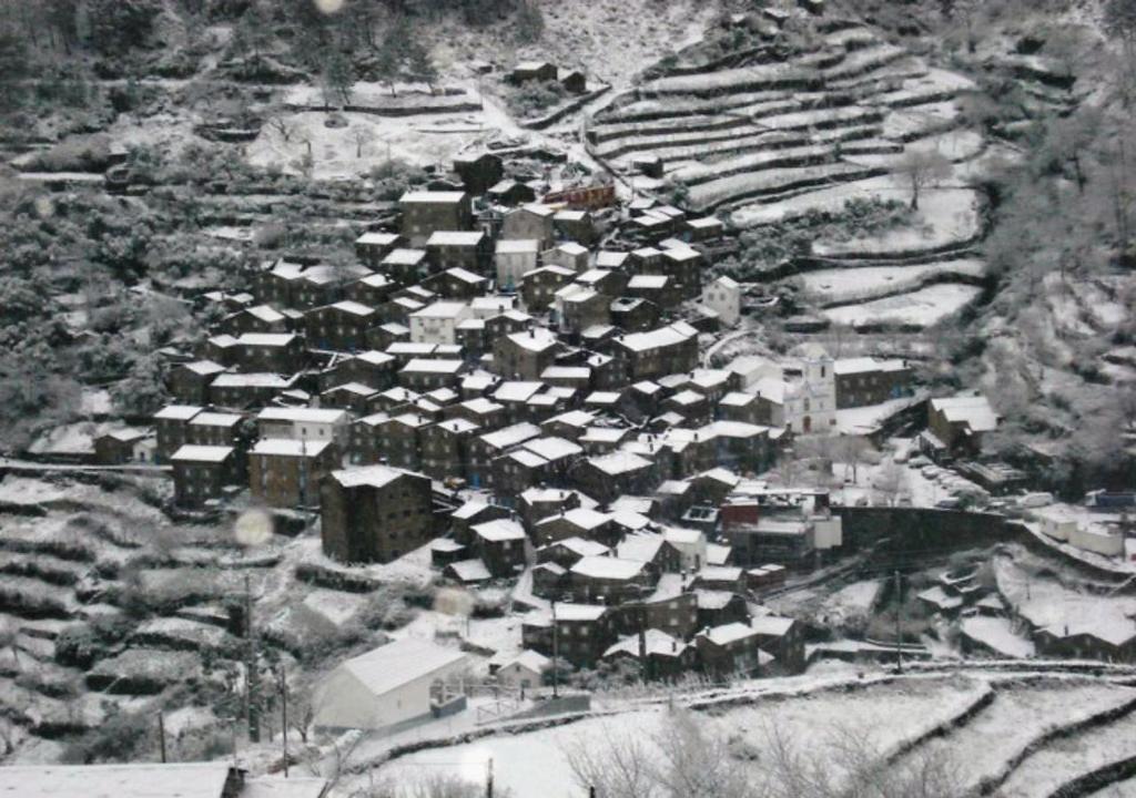 L'établissement INATEL Piodao en hiver
