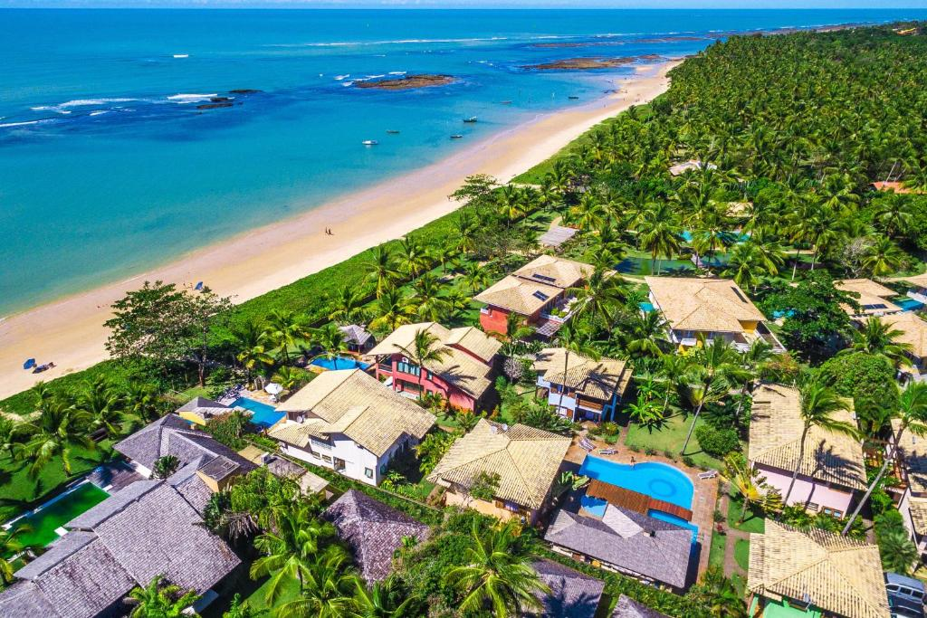 A bird's-eye view of Residence Pé na Areia