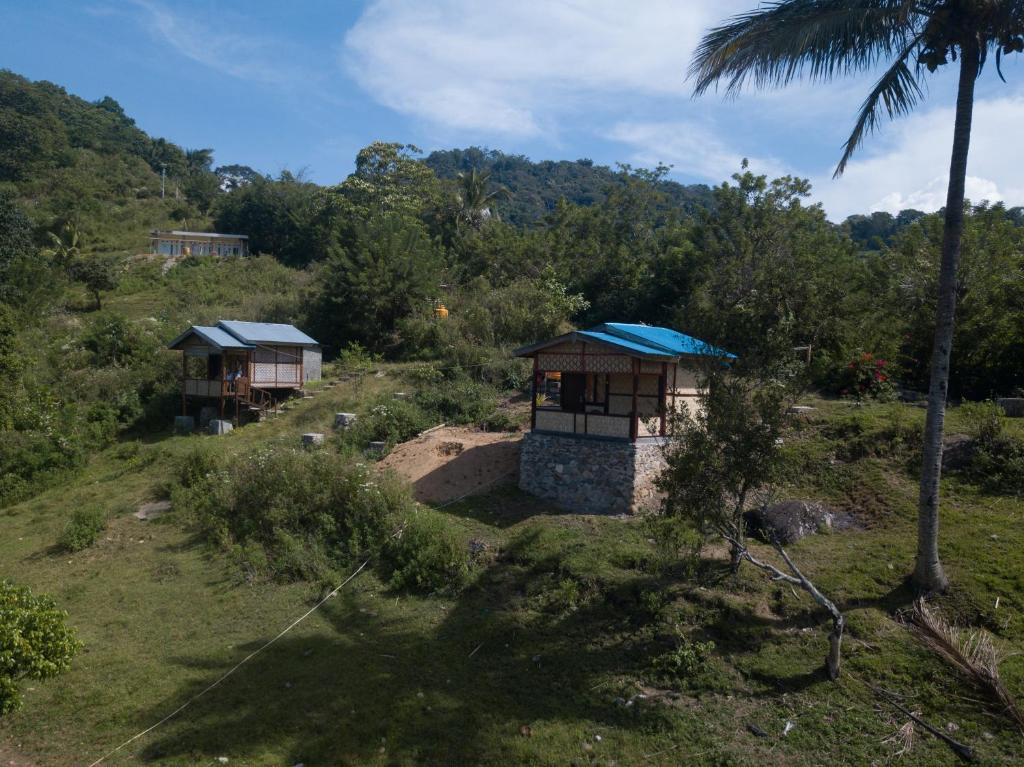 A bird's-eye view of Kelimutu View Bungalows
