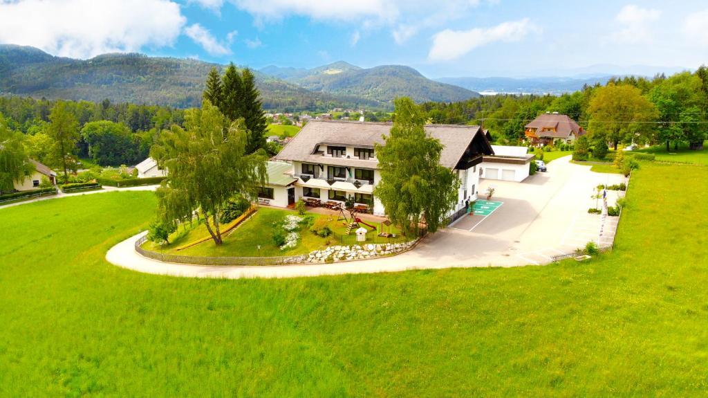 A bird's-eye view of Hotel Sonnenhof