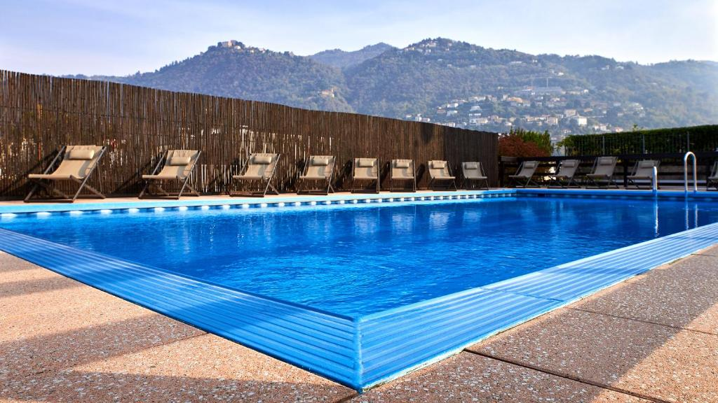 The swimming pool at or near Hotel Como