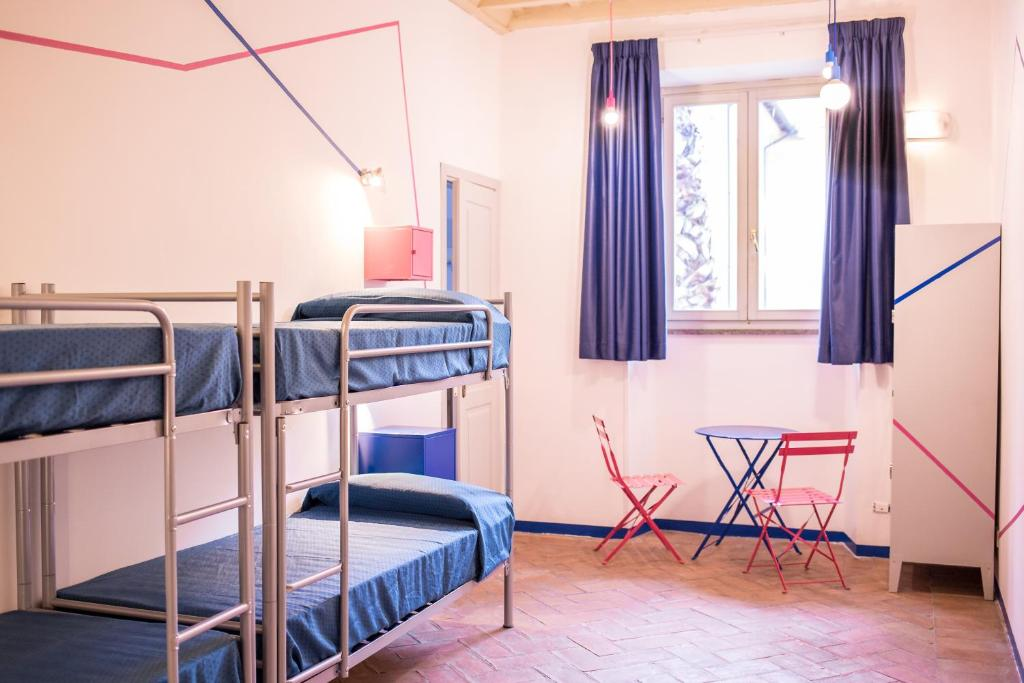 A bunk bed or bunk beds in a room at Orsa Maggiore Hostel for Women Only