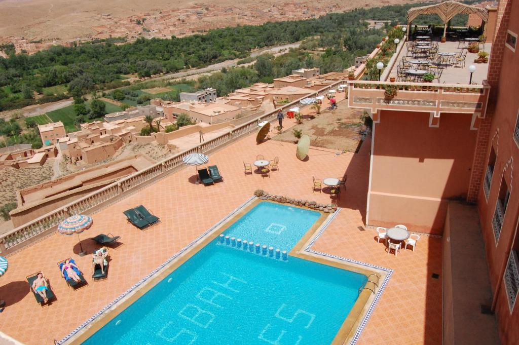 A view of the pool at La Kasbah De Dades or nearby