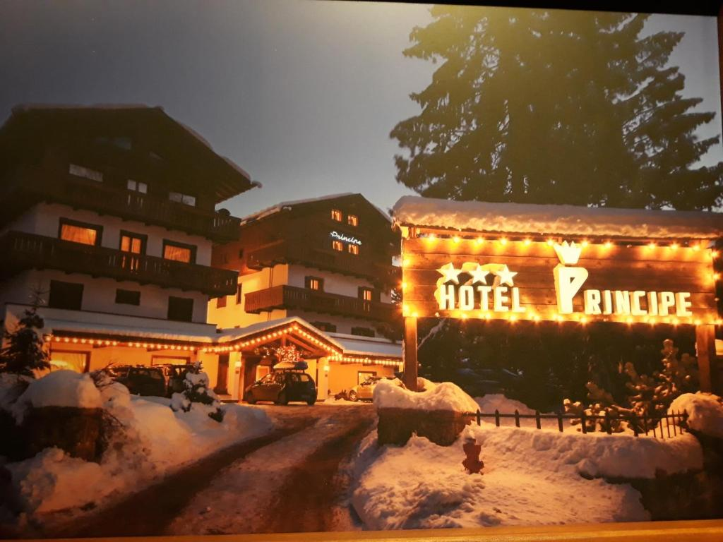 Hotel Principe during the winter