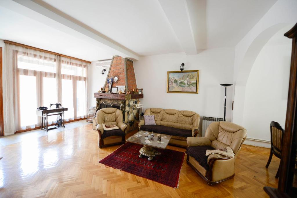 Zona de estar de Apartment Citta Vecchia