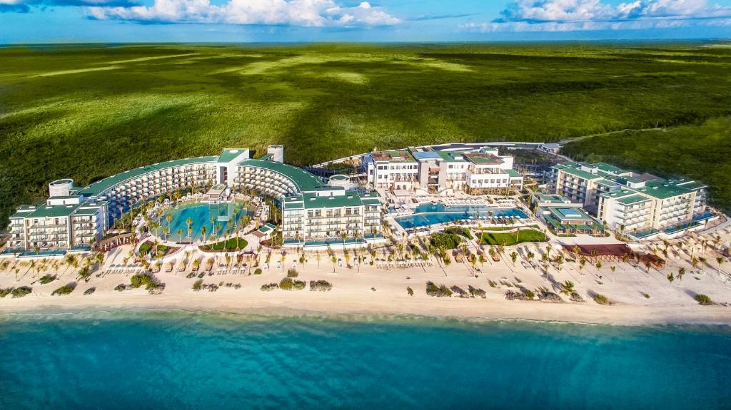 A bird's-eye view of Haven Riviera Cancun